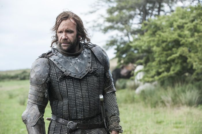 GAME OF THRONES season 4: Rory McCann. photo: Helen Sloan
