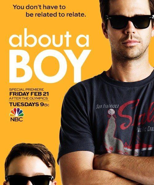 About A Boy Poster NBC David Walton Benjamin Stockham