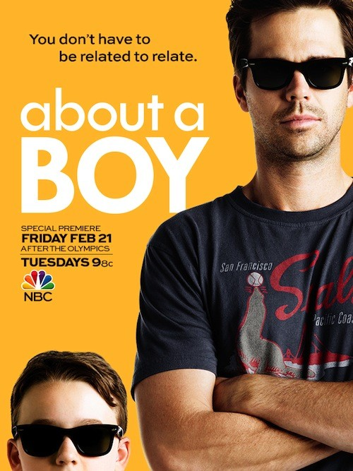 About A Boy Poster NBC David Walton Benjamin Stockham