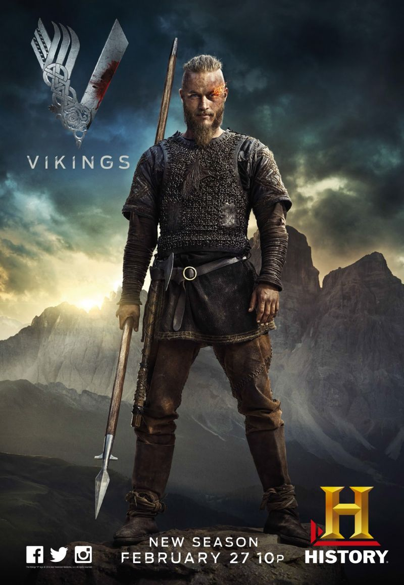 Vikings Season 2 Poster Travis Fimmel