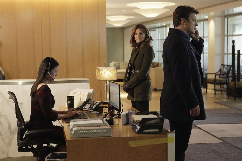 JAE JUNG, STANA KATIC, NATHAN FILLION