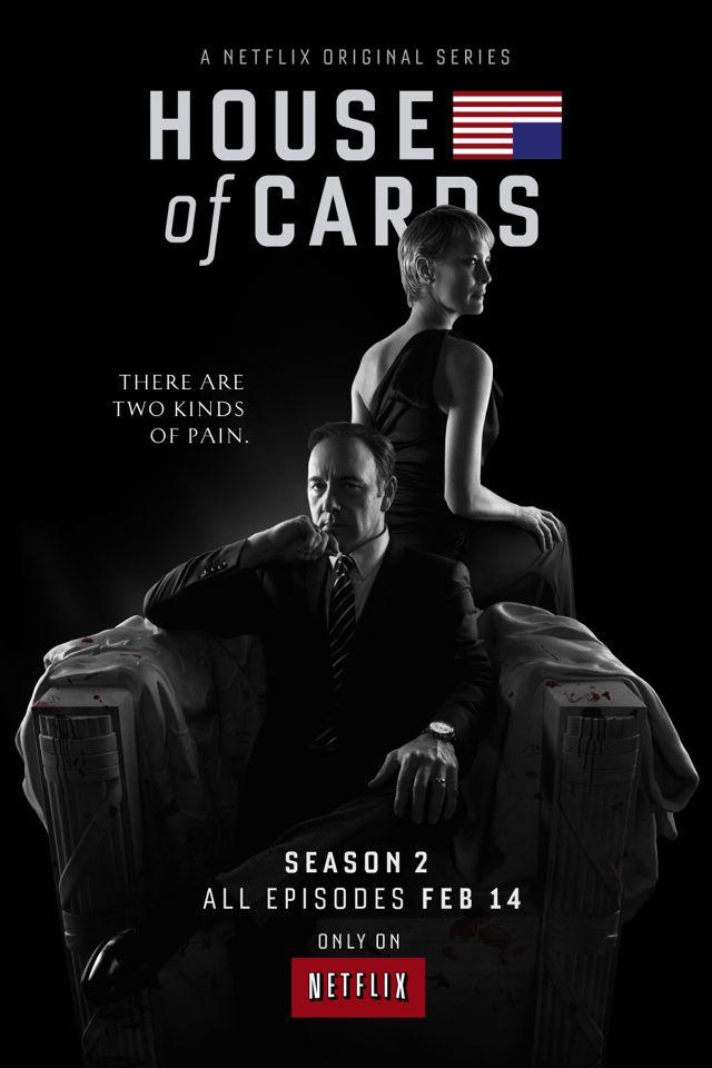House Of Cards Season 2 Poster Netflix