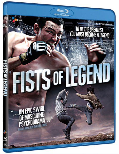 Fists Of Legend Blu-ray