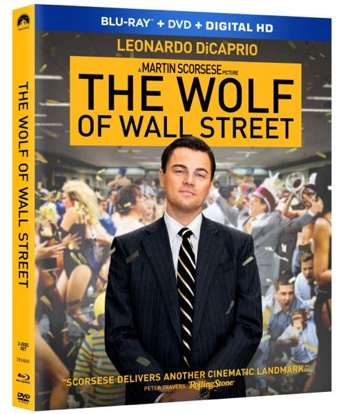 The Wolf Of Wall Street Bluray DVD 1