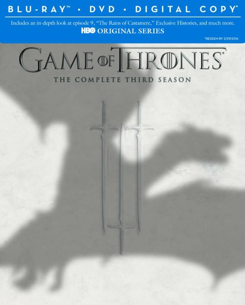 Game Of Thrones Season 3 Bluray DVD