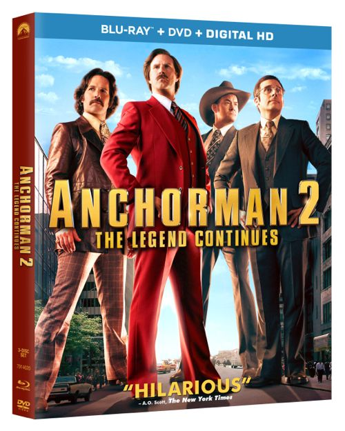 ANCHORMAN 2 THE LEGEND CONTINUES Bluray DVD