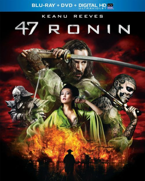 47 Ronin Bluray DVD Keanu Reeves