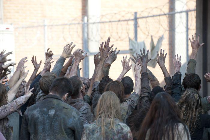 Walkers - The Walking Dead _ Season 4, Episode 10 - Photo Credit: Gene Page/AMC