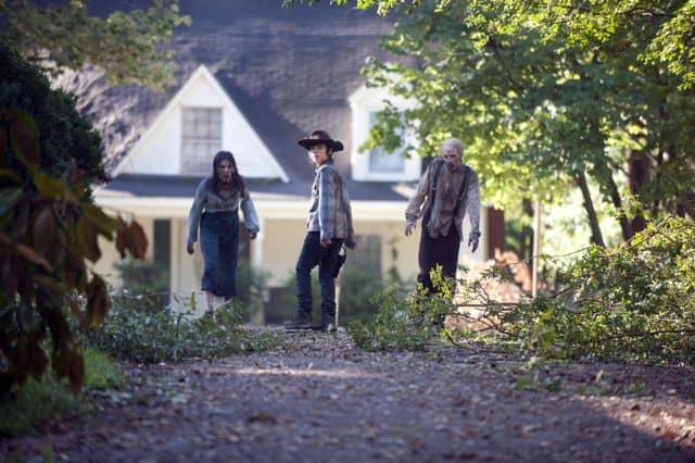Carl Grimes (Chandler Riggs) - The Walking Dead _ Season 4, Episode 9