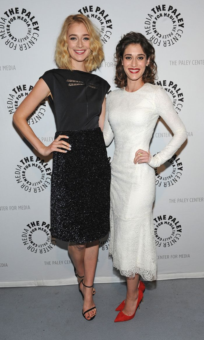 """Caitlin FitzGerald and Lizzy Caplan attend """"PaleyFest 2014: Masters of Sex"""""""