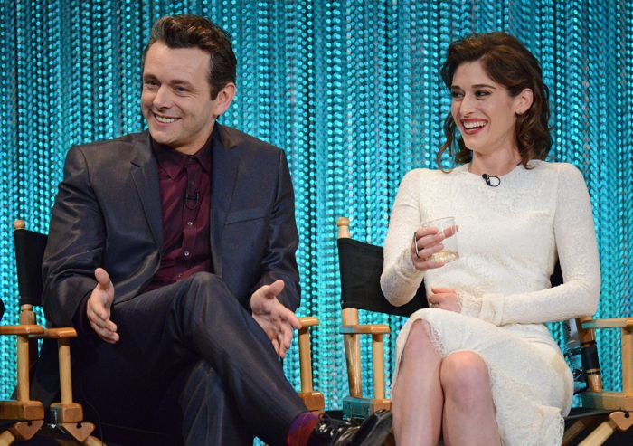 """Michael Sheen and Lizzy Caplan attend """"PaleyFest 2014: Masters of Sex"""""""