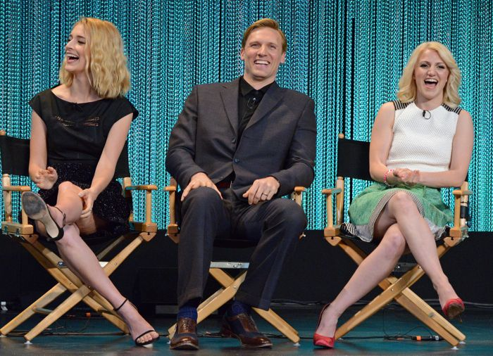 """Caitlin FitzGerald, Teddy Sears and Annaleigh Ashford attend """"PaleyFest 2014: Masters of Sex"""""""