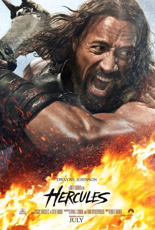 HERCULES Poster Starring Dwayne Johnson