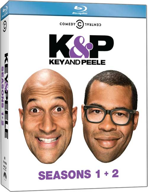 Key and Peele Season 1 2 Bluray