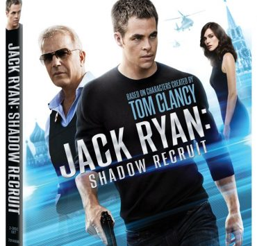 JACK RYAN SHADOW RECRUIT Blu-ray