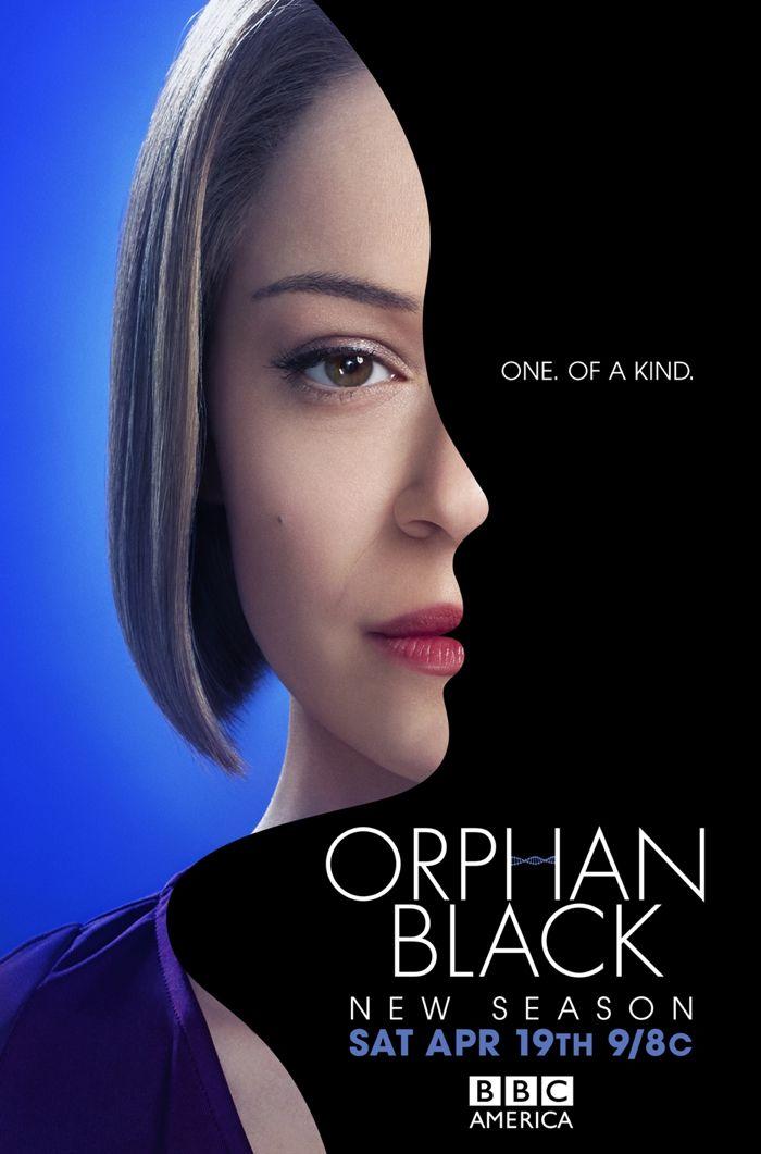 Orphan Black Poster BBC America Season 2
