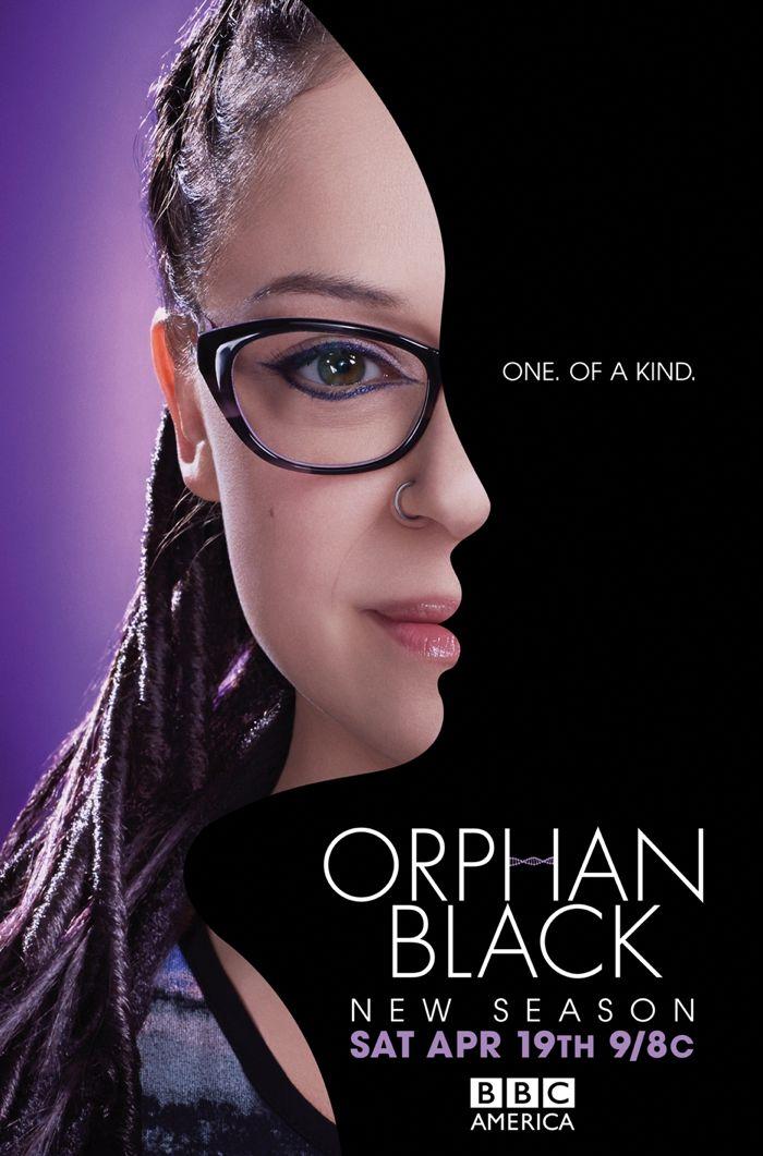 Orphan Black Poster BBC America Season 2 3