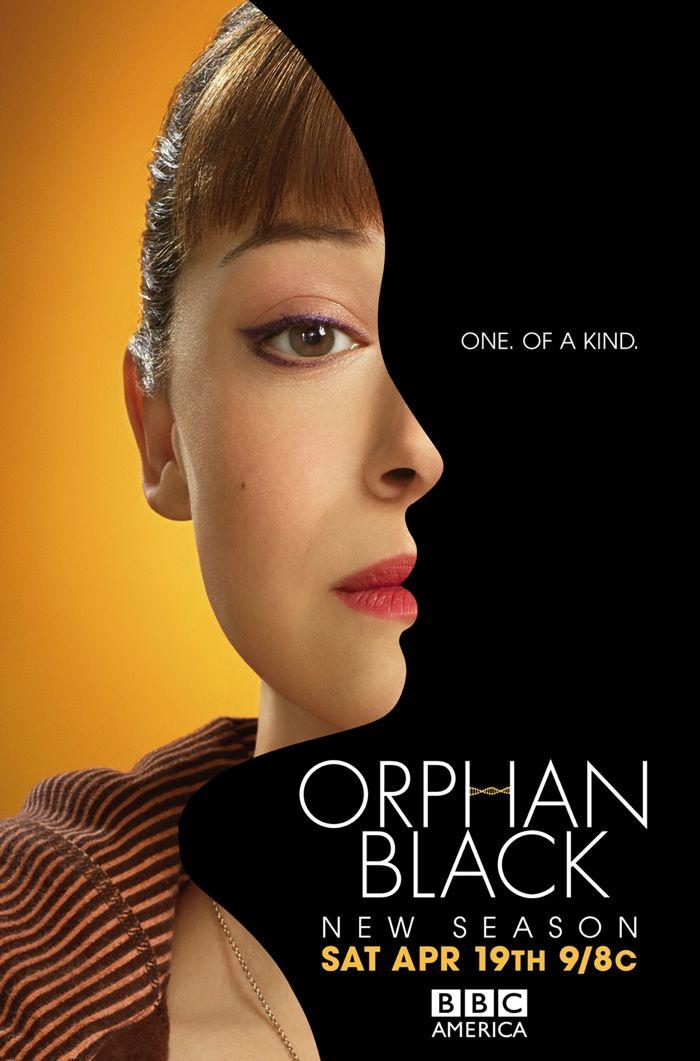 Orphan Black Poster BBC America Season 2 Tatiana Maslany