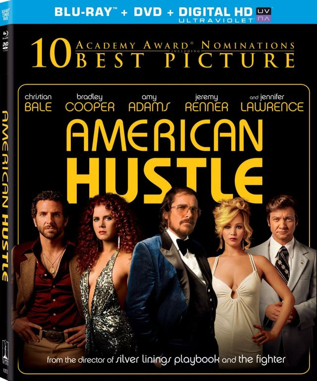 American Hustle Bluray DVD