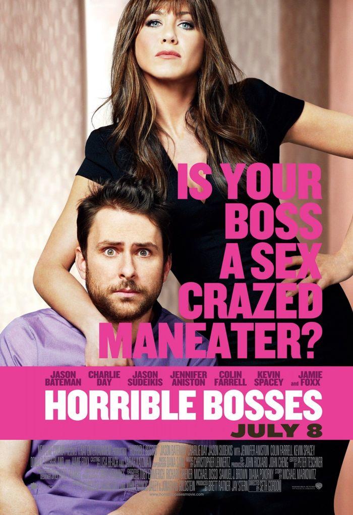 Horrible Bosses Movie Poster 03