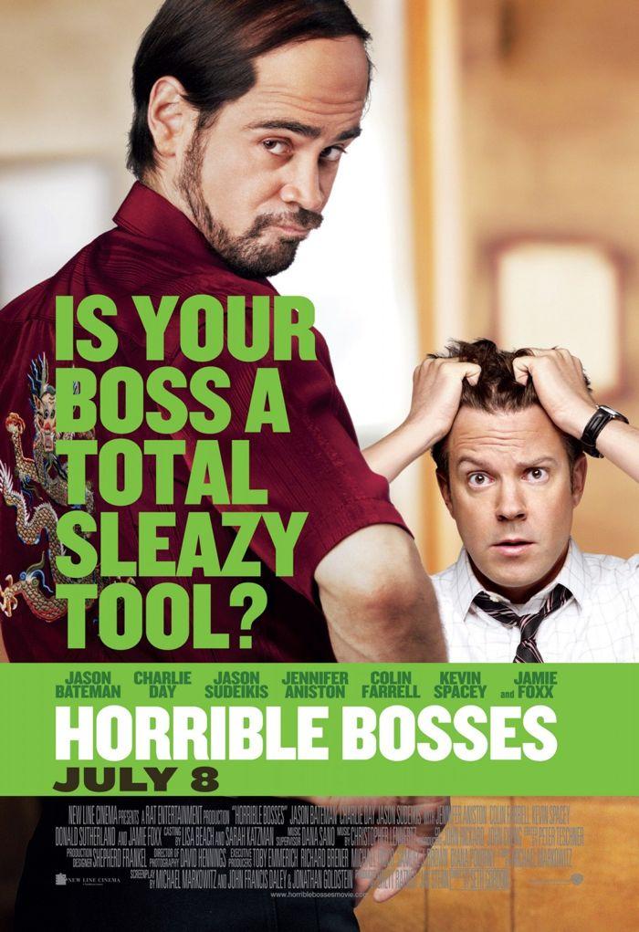 Horrible Bosses Movie Poster 02