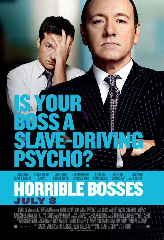 Horrible Bosses Movie Poster 01