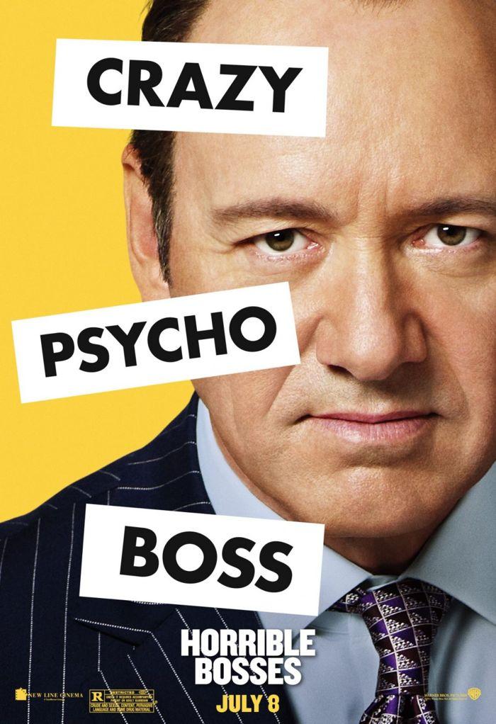 Horrible Bosses Movie Poster 11