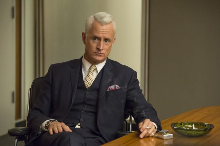 Mad Men 7x03 John Slattery as Roger Sterling