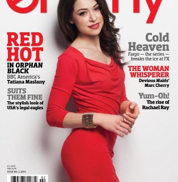 Tatiana Maslany Emmy Magazine