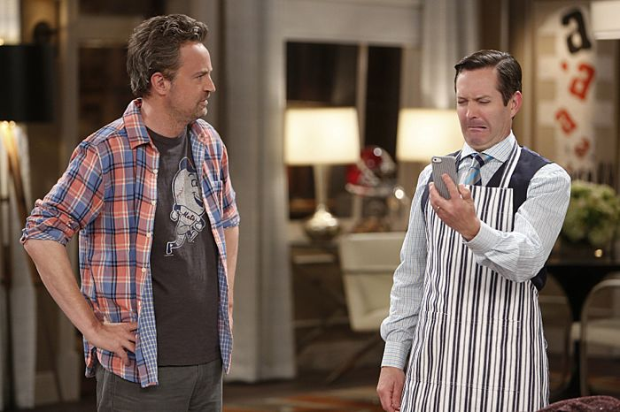 The Odd Couple CBS Matthew Perry Thomas Lennon