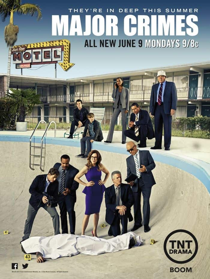 Major Crimes Season 3 Poster TNT