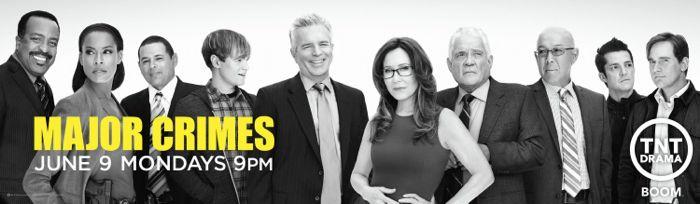 Major Crimes Season 3 Poster TNT 1