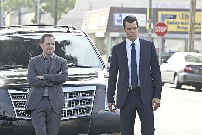 BATTLE CREEK stars Josh Duhamel and Dean Winters