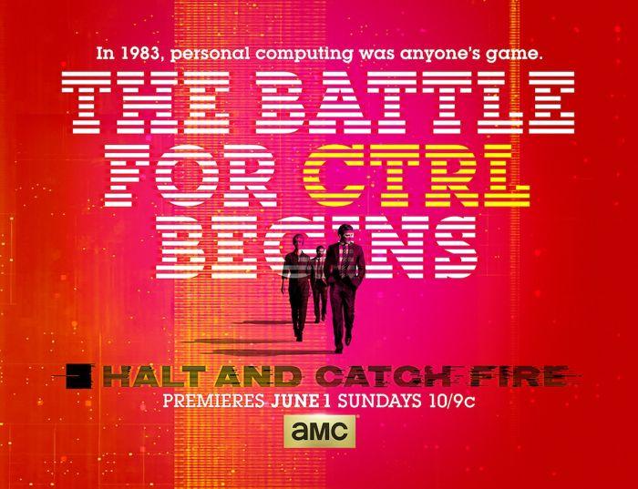 Halt And Catch Fire Poster Key Art