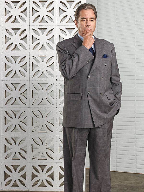 Beau Bridges as Barton Scully in Masters of Sex