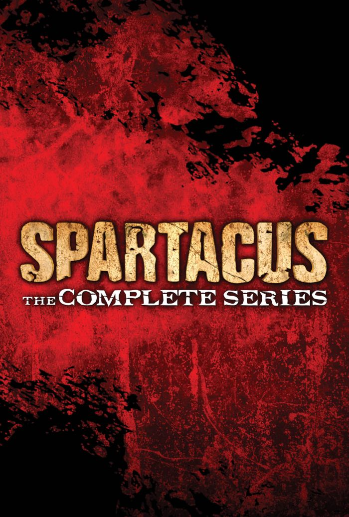 Spartacus The Complete Series Bluray DVD