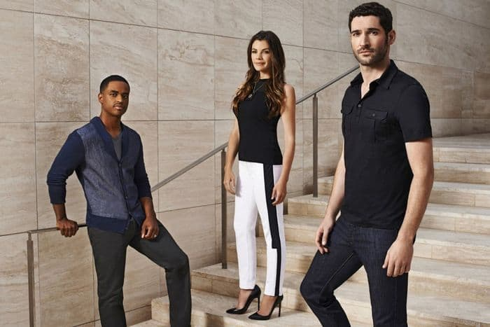 Rush - Season 1 Larenz Tate as Alex, Sarah Habel as Eve, Tom Ellis as Dr. William Rush