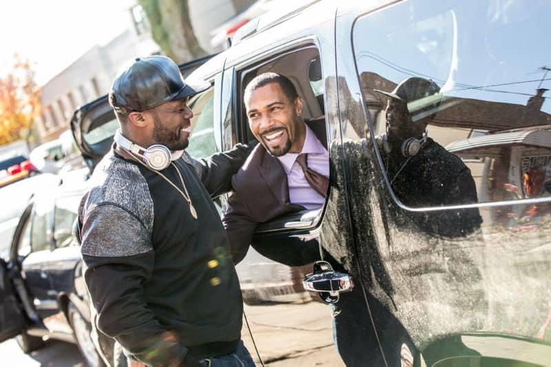 Curtis 50 Cent Jackson and Omari Hardwick Power
