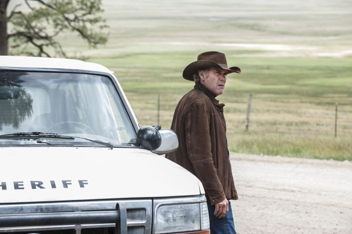 "Robert Taylor stars in the third season finale of A&E's original drama series, ""Longmire,"""