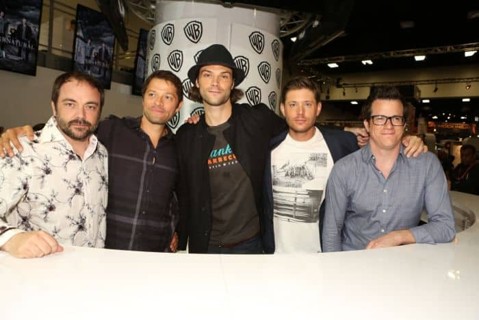 Supernatural Cast Comic Con 2014 11