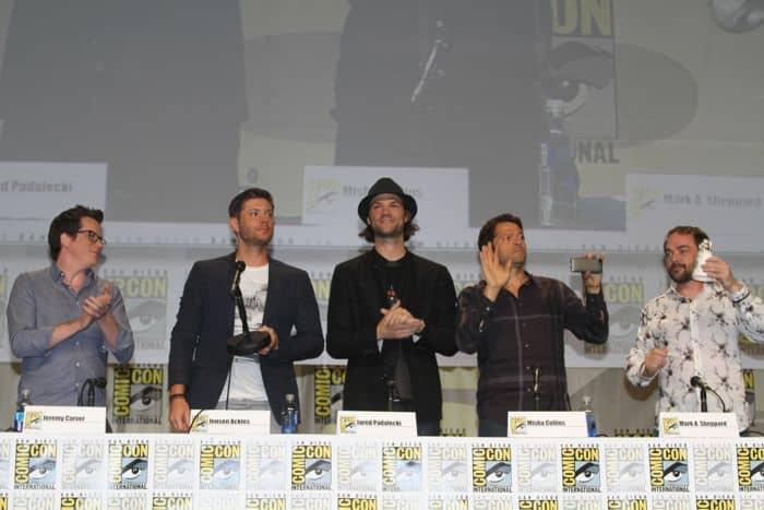 Supernatural Cast Comic Con San Diego 2014 7