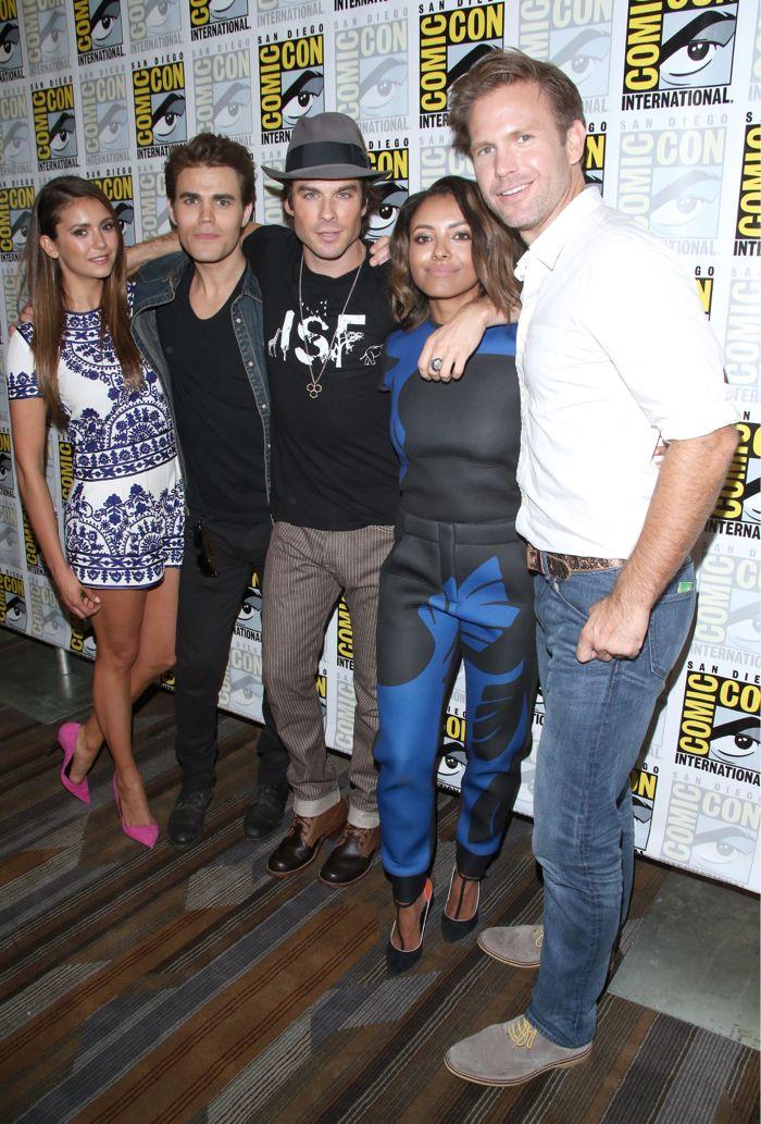 TVD Cast Comic Con San Diego 2014 4
