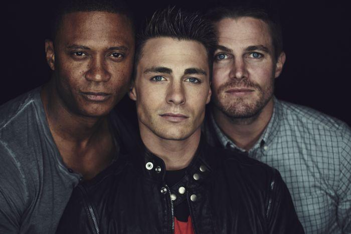 Arrow Cast Warner Bros Television Party San Diego Comic Con 1