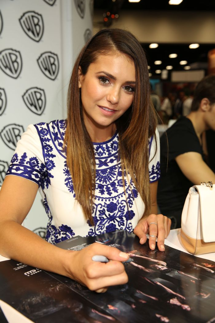 The Vampire Diaries Cast Comic Con 01