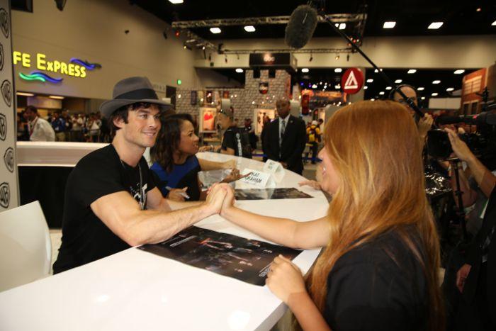 The Vampire Diaries Cast Comic Con 11