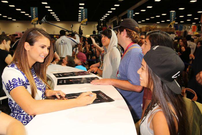 The Vampire Diaries Cast Comic Con 07