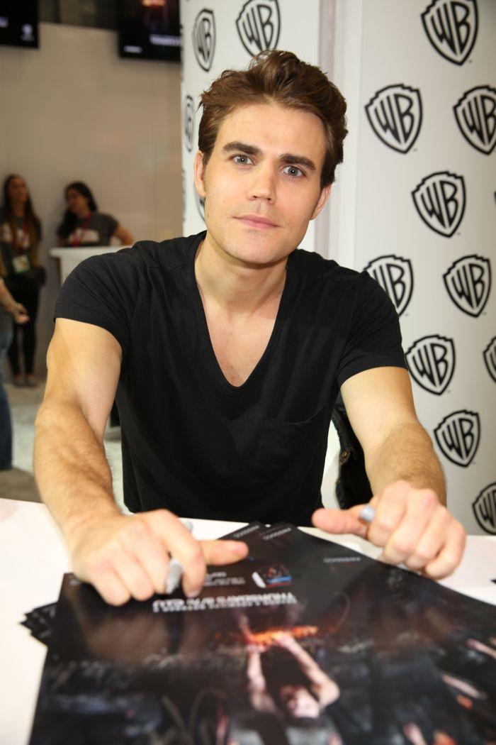 The Vampire Diaries Cast Comic Con 02