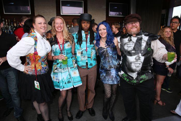 Warner Bros Party Comic Con 2014 San Diego 12