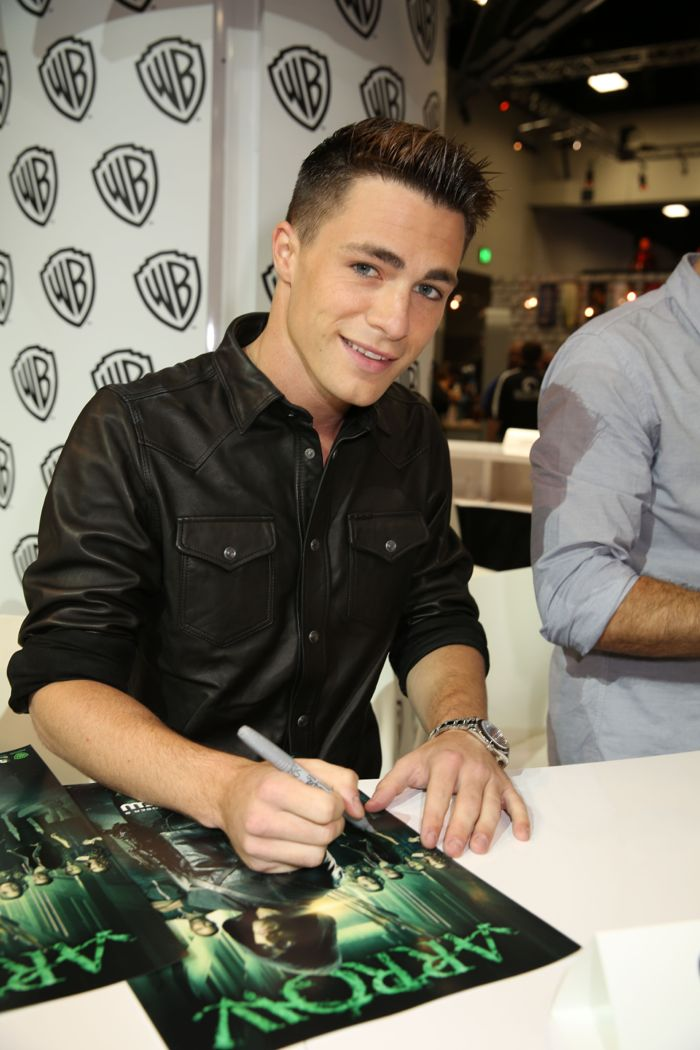 Arrow Cast San Diego Comic Con 2014 03