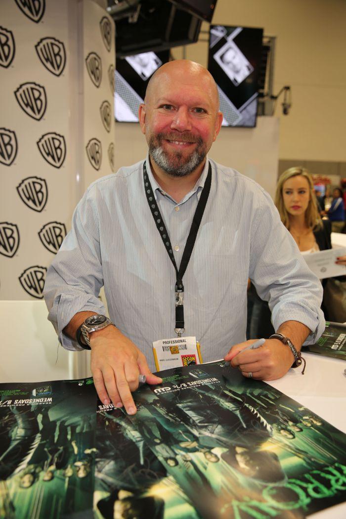 Arrow Cast San Diego Comic Con 2014 06